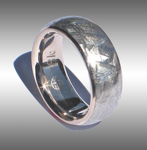 Gibeon Meteorite Ring 042